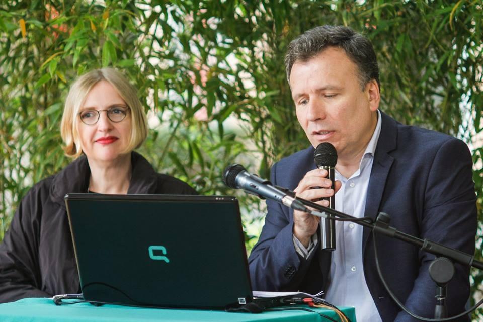 Con Davide Porporato al Festival di Mirandola 2016