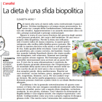 La dieta è una sfida biopolitica – il Caffè
