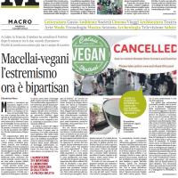 Macellai-vegani l'estremismo ora è bipartisan – il Mattino
