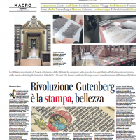 Rivoluzione Gutenberg è la stampa, bellezza – il Mattino