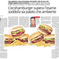 L'ecohamburger supera l'esame soddisfa sia palato che ambiente – il Caffè