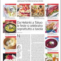 Da Helsinki a Tokyo le feste si celebrano soprattutto a tavola – il Caffè