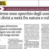 Intervista di Francesco Mannoni per Il Giornale di Brescia