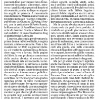 """Parmigiana e baccalà fritto, eredità ebraica tra """"ricette e precetti"""" – Il Mattino"""