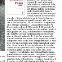 Non è arcaica la Madonna che s' inchina ai mafiosi – La Lettura de Il Corriere della Sera