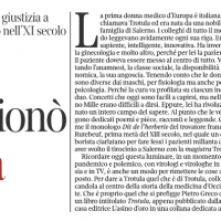 Trotula, l'italiana che rivoluzionò la medicina – La Lettura de Il corriere della Sera