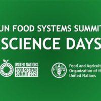 9 luglio. United Nations Food Systems Summit 2021