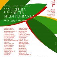 """14-15 novembre. Convegno Scientifico Internazionale """"La cultura della dieta mediterranea. Ieri oggi domani"""""""