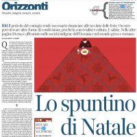 Articolo sulla convivialità per La Lettura del Corriere della Sera