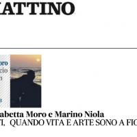 Recensione di Titti Marrone del mio nuovo libro Baciarsi (Einaudi Ed.) su Il Mattino del 25 maggio 2021